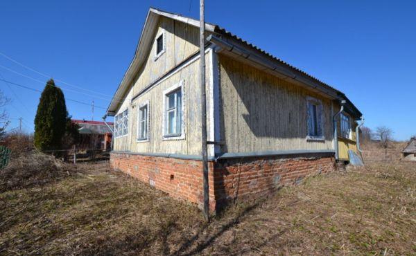 Деревянный дом с участком 19 сот. в д.Шишкино 95 км от МКАД